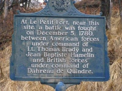 Le Petit Fort Marker image. Click for full size.