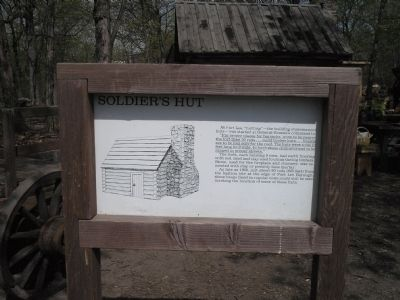 Soldier Hut Marker image. Click for full size.
