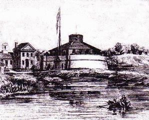 Fort Severn, early 1800s. image. Click for full size.