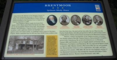 Brentmoor Marker image. Click for full size.