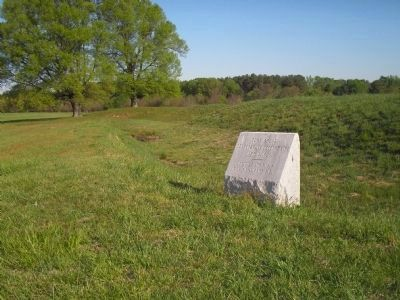 Marker for Confederate Fort Gregg image. Click for full size.