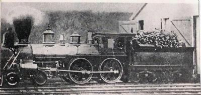 Lincoln's Locomotive image. Click for full size.