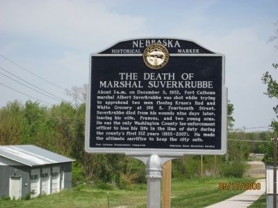 The Death of Marshal Suverkrubbe Marker image. Click for full size.