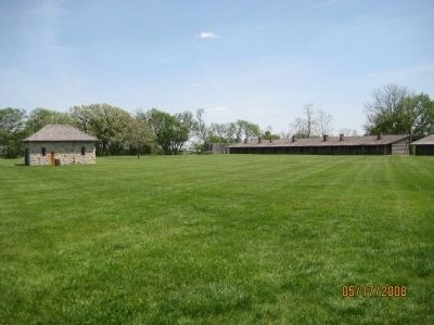 Inside Fort Atkinson image. Click for full size.