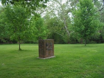 Marker in Rahway Park image. Click for full size.