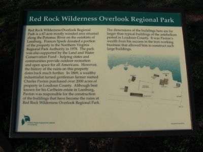 Red Rock Wilderness Overlook Regional Park Marker image. Click for full size.
