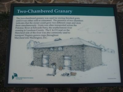 Two-Chambered Granary Marker image. Click for full size.
