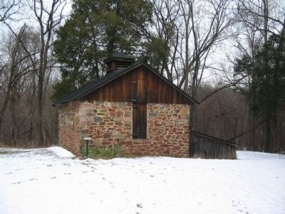 Ice House on a Day Fit for Stocking Up on Ice! image. Click for full size.
