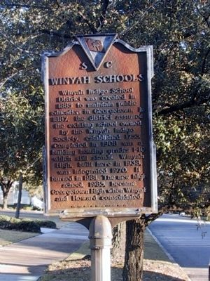 Winyah Schools Marker image. Click for full size.