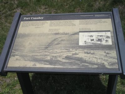Fort Conahey Marker image. Click for full size.