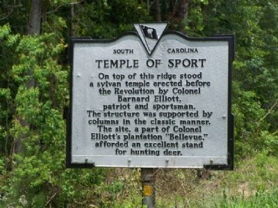 Temple of Sport Marker image. Click for full size.