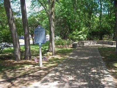Marker in Baylor Massacre Park image. Click for full size.