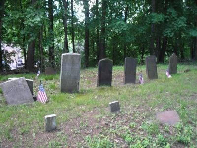 Graves in the Old Burying Ground	 image. Click for full size.
