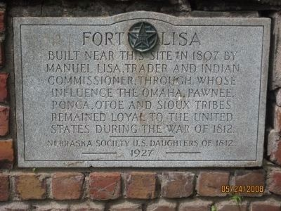 Fort Lisa Marker image. Click for full size.