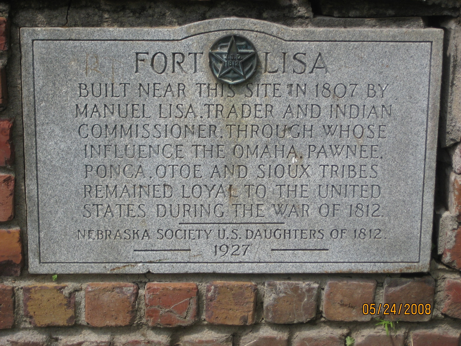 Fort Lisa Marker