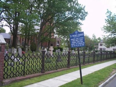 Marker on Rector Street image. Click for full size.