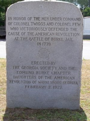 Colonels Twiggs and Few Marker image. Click for full size.