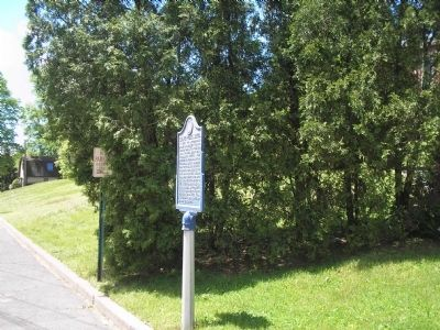 Marker on Durie Avenue image. Click for full size.