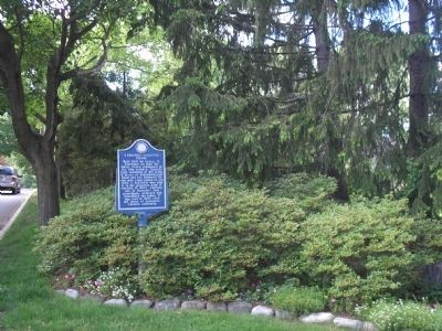 Marker on Massachusetts Avenue image. Click for full size.