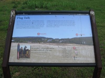 Flag Talk Marker image. Click for full size.