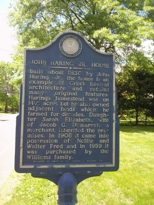 John Haring, Jr. House image. Click for full size.