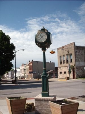 Time Check - across 2nd Street image. Click for full size.