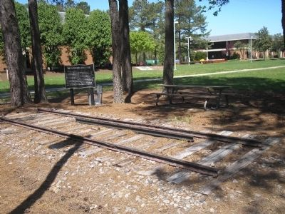Marker at Richard Bland College image. Click for full size.