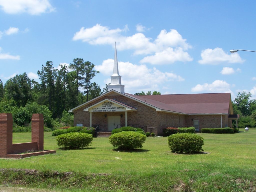 as seen today, Pilgrim Missionary Baptist Educational Center