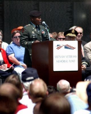 Vietnam Veterans Memorial Memorial Day Ceremony 2008 image. Click for full size.