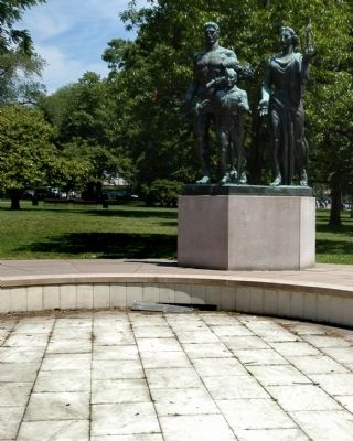 Boy Scout Memorial image. Click for full size.