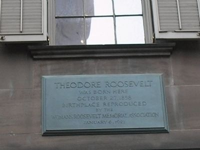 Theodore Roosevelt Marker image. Click for full size.