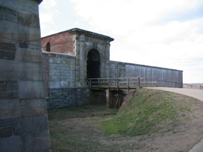 Drawbridge and Gateway to the Fort image. Click for full size.