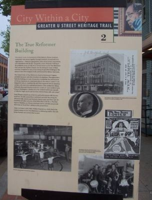 The True Reformer Building Marker image. Click for full size.