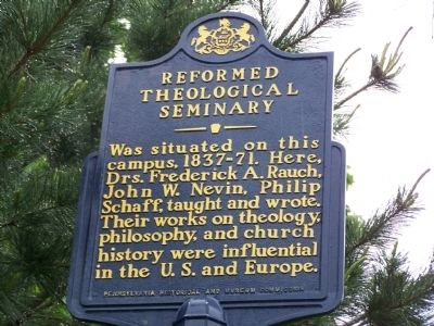 Reformed Theological Seminary Marker image. Click for full size.