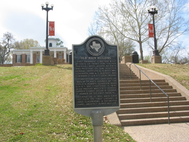 Old Main Building Marker