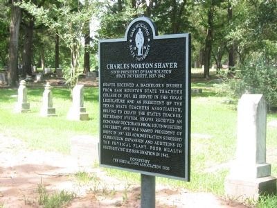 Charles Norton Shaver Marker image. Click for full size.