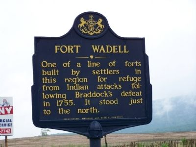 Fort Wadell Marker image. Click for full size.