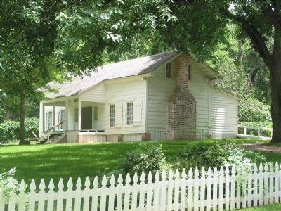 Woodland Home of Sam Houston image. Click for full size.