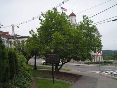 Marker across from Court House image. Click for full size.