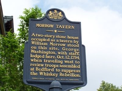 Morrow Tavern Marker image. Click for full size.
