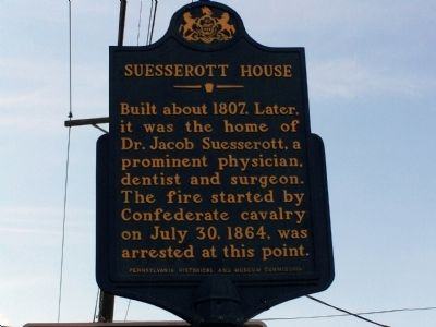 Suesserott House Marker image. Click for full size.