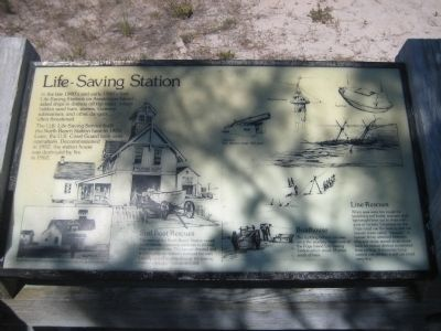 Life-Saving Station Marker image. Click for full size.
