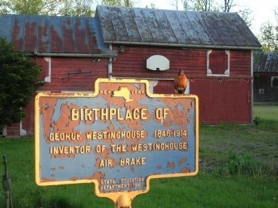 Birthplace of George Westinghouse Marker image. Click for full size.