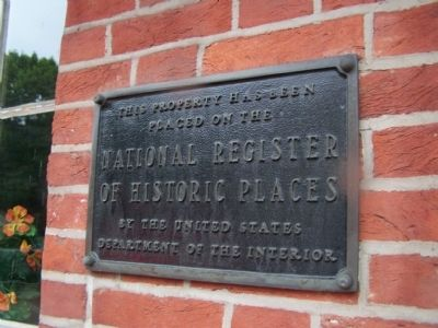 Building is on the National Register of Historic Places. image. Click for full size.