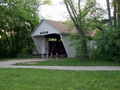 Potter's Covered Bridge image. Click for full size.