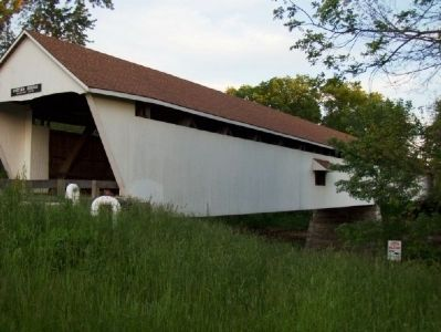 Potter's Covered Bridge, from the opposite end image. Click for full size.