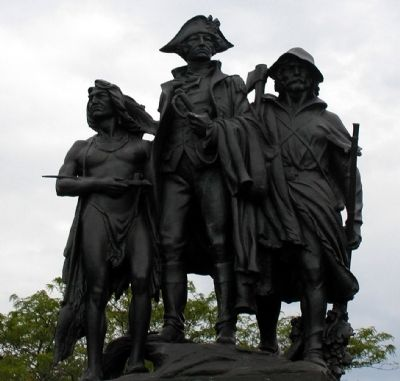 Fallen Timbers Battle Monument image. Click for full size.