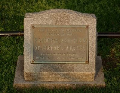 National Register marker for Concord Point Lighthouse image. Click for full size.