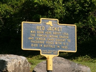 Red Jacket Marker image. Click for full size.