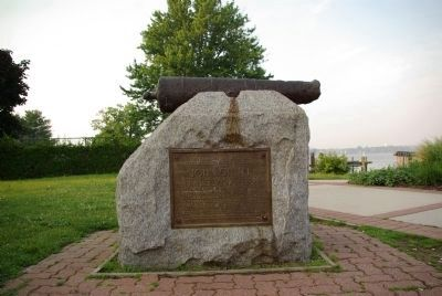 John O'Neill marker and cannon image. Click for full size.
